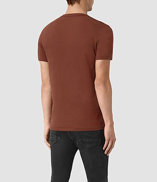 Uomo Tonic Crew T-Shirt (RUST BROWN) - product_image_alt_text_3