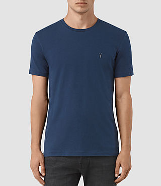 Hombre Tonic Crew T-Shirt (BALTIC BLUE) - product_image_alt_text_1