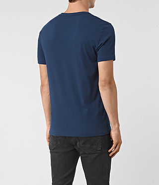 Hombre Tonic Crew T-Shirt (BALTIC BLUE) - product_image_alt_text_3