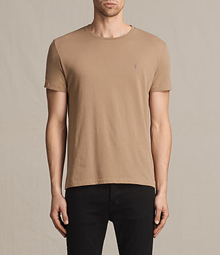 Mens Tonic Crew T-Shirt (CLAY RED)