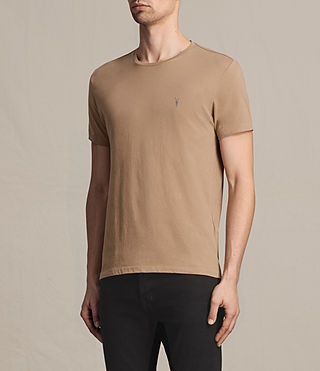 Mens Tonic Crew T-Shirt (CLAY RED) - product_image_alt_text_3