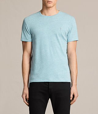 Mens Tonic Crew T-Shirt (AZURE BLUE) - product_image_alt_text_1