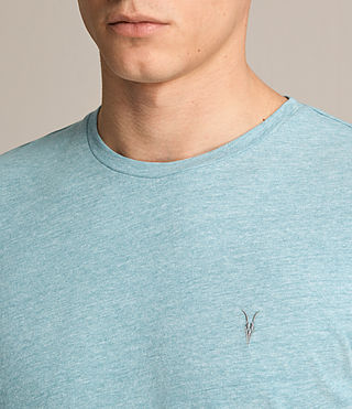Men's Tonic Ss Crew (AZURE BLUE MARL) - product_image_alt_text_2