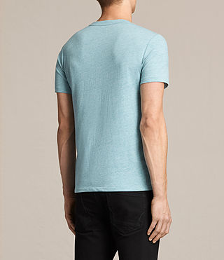 Men's Tonic Ss Crew (AZURE BLUE MARL) - product_image_alt_text_4