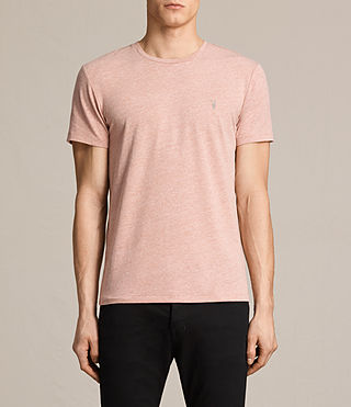 Mens Tonic Crew T-Shirt (CINNAMON RED MARL) - product_image_alt_text_1