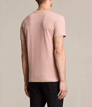 Mens Tonic Crew T-Shirt (CINNAMON RED MARL) - product_image_alt_text_4