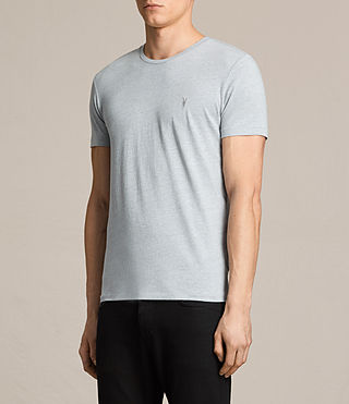 Men's Tonic Crew T-Shirt (STORM BLUE MARL) - product_image_alt_text_3