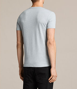 Men's Tonic Crew T-Shirt (STORM BLUE MARL) - product_image_alt_text_4
