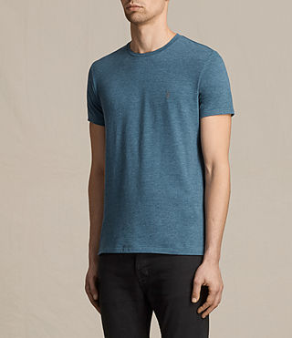 Hombres Tonic Crew T-Shirt (MONTANA BLUE MARL) - product_image_alt_text_3