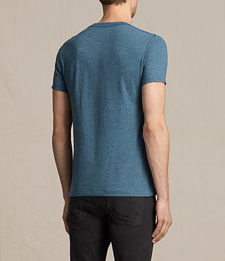 Hombres Tonic Crew T-Shirt (MONTANA BLUE MARL) - product_image_alt_text_4
