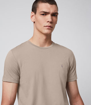 Men's Tonic Crew T-Shirt (SHALE BROWN) - Image 1