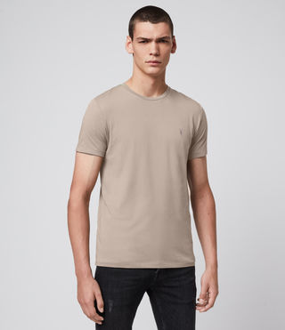 Men's Tonic Crew T-Shirt (SHALE BROWN) - Image 3