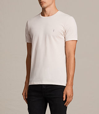 Men's Tonic Crew T-Shirt (BARLEY PINK) - product_image_alt_text_3