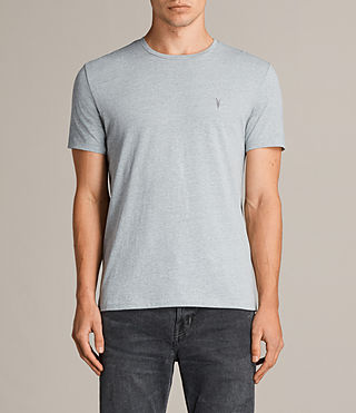 Men's Tonic Crew T-Shirt (CHROME BLUE MARL) - Image 1