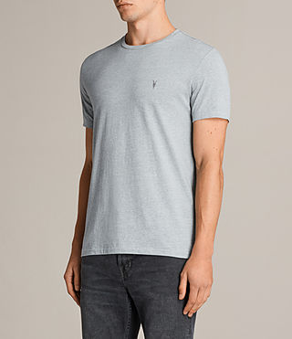Mens Tonic Crew T-Shirt (CHROME BLUE MARL) - Image 3