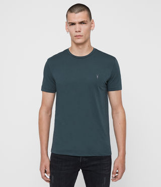 Hommes Tonic Crew T-Shirt (TEAL BLUE) -