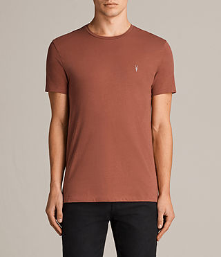 Uomo T-shirt Tonic (HARISSA RED) - Image 1
