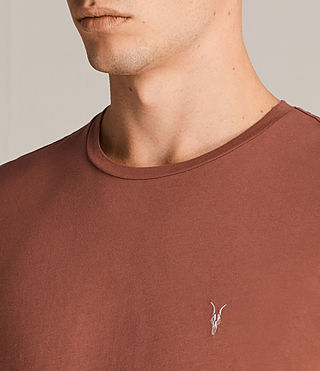 Uomo T-shirt Tonic (HARISSA RED) - Image 2