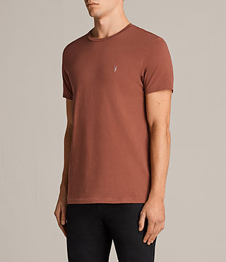 Uomo T-shirt Tonic (HARISSA RED) - Image 3