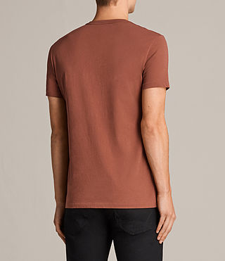 Uomo T-shirt Tonic (HARISSA RED) - Image 4