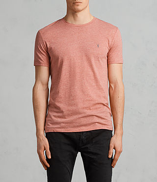Hommes T-Shirt Tonic (BLOCK RED MARL) - Image 1