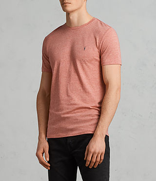 Hombre Camiseta Tonic (BLOCK RED MARL) - Image 2