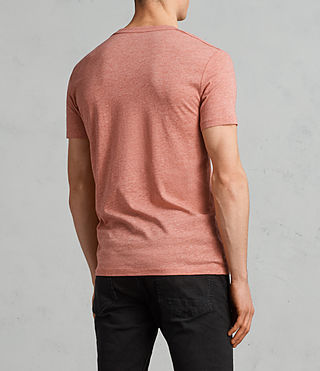Hombre Camiseta Tonic (BLOCK RED MARL) - Image 3