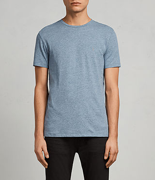 Men's Tonic Crew T-Shirt (AQUA BLUE MARL) - Image 1