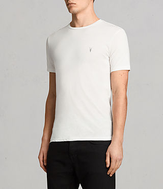 Mens Tonic Crew T-Shirt (Chalk) - Image 3