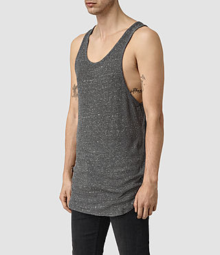 Hombre Hathan Tank (CHARCOAL/CHLK WHT) - product_image_alt_text_2