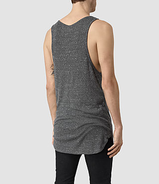 Hombre Hathan Tank (CHARCOAL/CHLK WHT) - product_image_alt_text_3