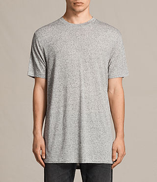 Uomo T-shirt Towal maniche corte (Light Grey Marl) -