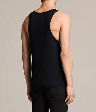 Mens Tonic Tank (INK NAVY) - product_image_alt_text_4