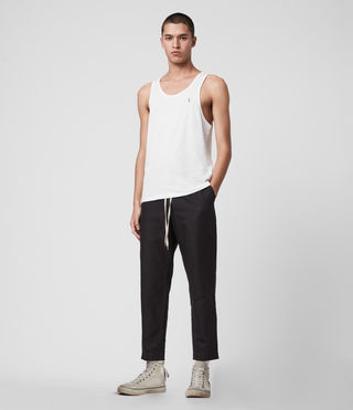Mens Tonic Tank (Optic White) - product_image_alt_text_3