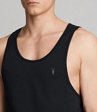 Uomo Tonic Vest (Black) - product_image_alt_text_2