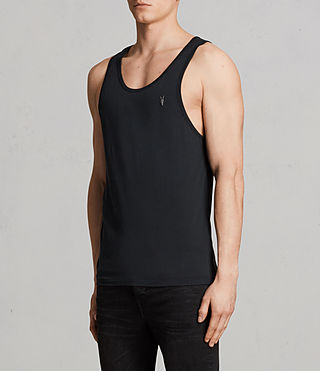 Mens Tonic Tank (Black) - Image 3