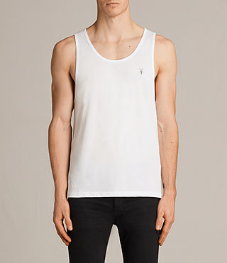 Mens Tonic Tank (Chalk)