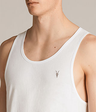 Mens Tonic Vest (Chalk) - Image 2