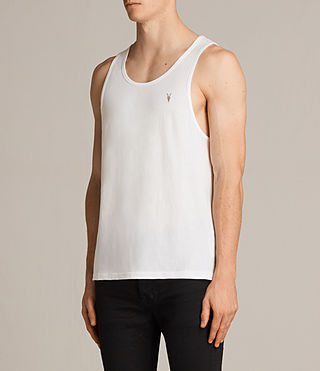 Mens Tonic Vest (Chalk) - Image 3