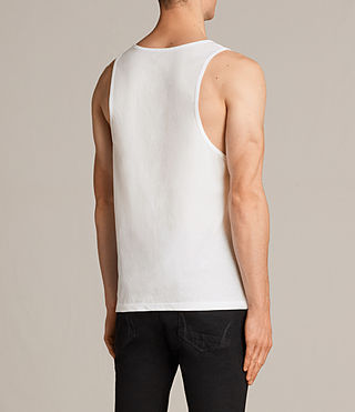 Mens Tonic Vest (Chalk) - Image 4