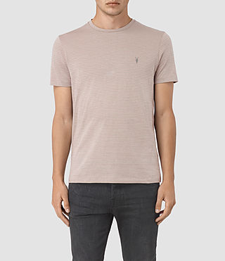 Men's Baltis Tonic Crew T-shirt (CHROME/FIG PINK)