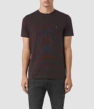 Men's Baltis Tonic Crew T-Shirt (INK/DAMSON RED) -