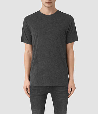 Men's Cedarn Crew T-Shirt (ANTHRACITE MARL) -