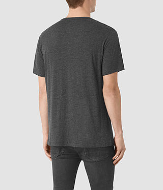 Men's Cedarn Crew T-Shirt (ANTHRACITE MARL) - product_image_alt_text_3