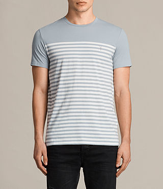 Men's Breize Tonic T-Shirt (STORM BLUE/CHALK) - Image 1