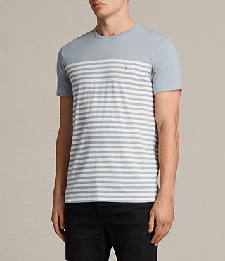 Men's Breize Tonic T-Shirt (STORM BLUE/CHALK) - Image 3