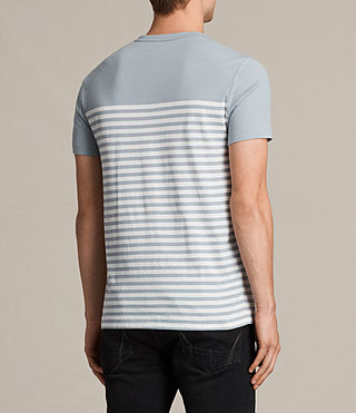 Men's Breize Tonic T-Shirt (STORM BLUE/CHALK) - Image 4