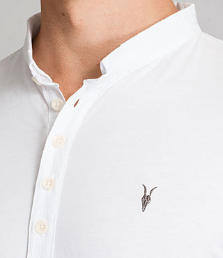 Men's Saints Polo Shirt (Optic White) - Image 2