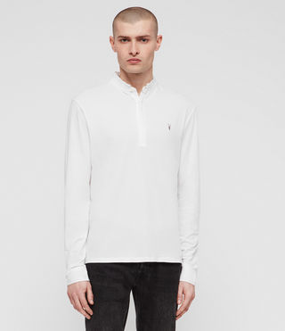 Hombres Polo Grail (Optic White) - Image 4