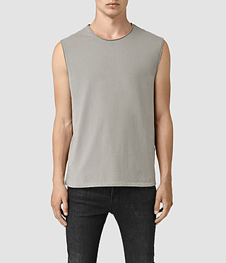 Hommes Mehson Crew T-Shirt (Putty)